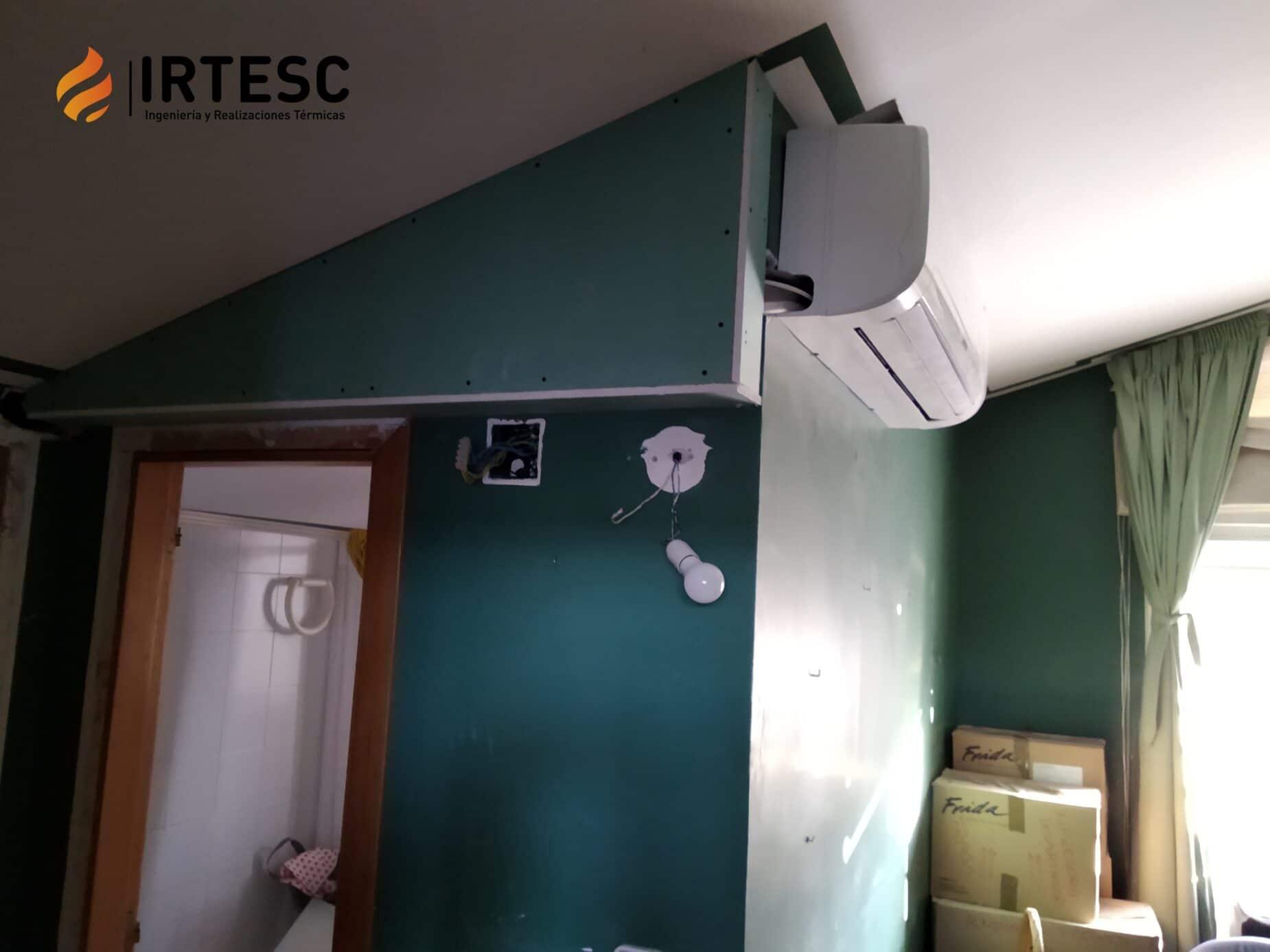 climatización aire acondicionado fancoil split