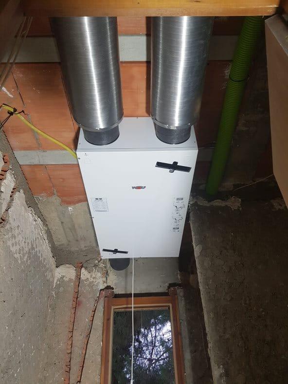 Instalación de Aerotermia por Suelo Radiante en Garrapinillos 3