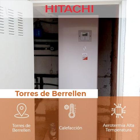 Cambio de Caldera de Gasoil por Aerotermia de Alta Temperatura en Torres de Berrellen 1